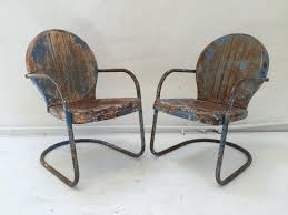 home decor mid century american clam shell patio chairs 1950s