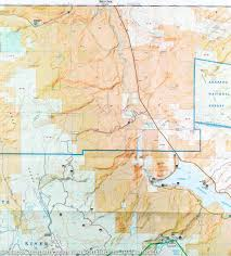 Colorado Mountains Map by Trail Map Of Green Mountain Reservoir Ute Pass Colorado 107