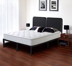 olee sleep bed frame t 3000 with faux leather headboard ol14bf05