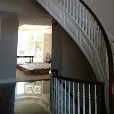 Refinish Banister Exotic Flooring Old World Craftsmanship