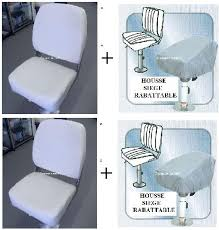 housse siege bateau siège bateau pliable vinyl blanc confort paname marine