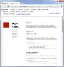 Docs Resume Template Resume Template Google Docs Le Classeur Google Doc Resume