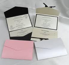 Pocket Fold Invitations Diy Wedding Stationery Wedding Favour Boxes Ribbon