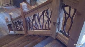 Wood Stair Banisters Wood Stair Railing Deck Railing Mountain Laurel Handrails