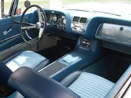 1961 Thunderbird Interior Ford Thunderbird 2nd Generation 1958 1960 1958 Hardtop Coupé 2d