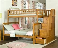 Wood Bunk Bed Plans Bedroom Wonderful Full Bunk Beds With Stairs Full Over Full Wood