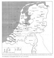 The Netherlands Map Jews In The Netherlands 05 Holocaust Period 1933 1945