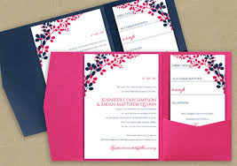 wedding invitations diy diy pocket wedding invitation template set instant