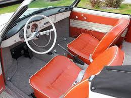 Karmann Ghia Interior Vw Karmann Ghia Sedan Original Seat Upholstery Front Rear 1961