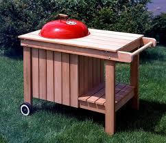 how to build a weber grill table 15 854 kettle grill caddy barbeque pdf woodworking plan grill