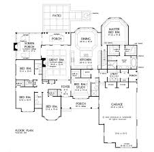 2500 Sq Ft Ranch Floor Plans 209 Best One Story Home Plans Images On Pinterest Dream House