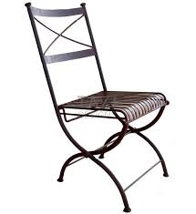 Folding Bistro Chairs Iron Folding Chair Bistro Chair Tazi Designs