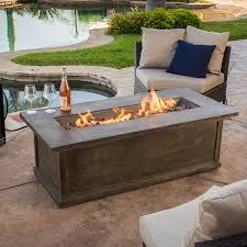 amazon gas fire pit table just arrived rectangle propane fire pit table amazon com napoleon