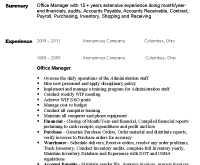 Office Manager Resume Samples by Gorgeous Design Office Manager Resume Sample 6 Sample Office