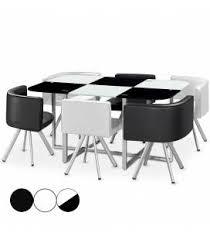 table avec chaise encastrable table avec chaises table a manger pas cher avec chaise with