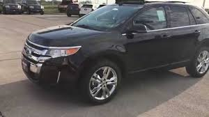 ford crossover black ebb29964 2014 ford edge limited black patriotford youtube