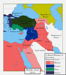 Maps Of The Middle East by Alternate Middle East By Magnysovich On Deviantart