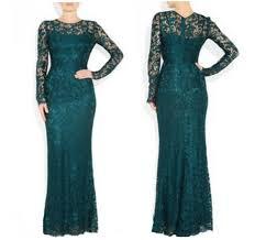 turmec long sleeve green maxi dress
