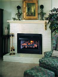 lowes gas fireplace glass cleaner ventless logs propane inserts