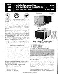 bryant heat pump 542e user guide manualsonline com