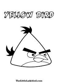 yellow bird coloring coloring