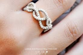 infinity wedding band wedding band with three diamond infinity hearts