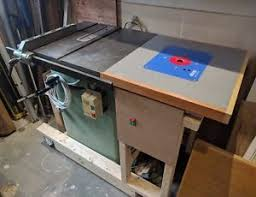 table saw router table startrite table saw router table ebay