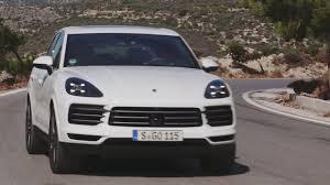 porsche cayenne matte white porsche cayenne in white driving on the road youtube