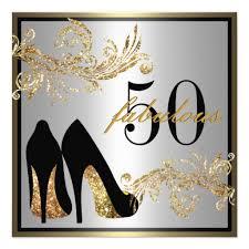 birthday invites elegant 50th birthday invitations for her best