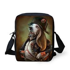 jeremysport soldie dogs gentleman tiger designs crossbody