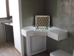 table pleasing corner vanity table ideas unique hardscape design Dressing Vanity Table