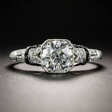 18 carat diamond ring deco 1 18 carat diamond ring f si1