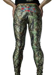 Confederate Flag Wallet Rebel Flag On Camo Leggings The Swamp Company