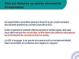 chambre de commerce franco arabe formalites a l international focus sur vos documents commerciaux