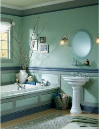 renew your small bathroom with modern decor in green