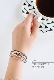 diy hand bracelet images Diy multi strand bracelet homey oh my jpg