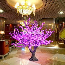 1188 led 130cm high artificial small lighted trees dongyi