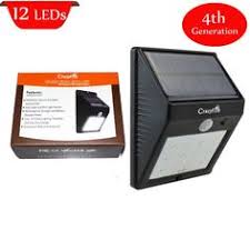 super solar powered motion sensor lights crazyfire new 4th generation solar powered 35 led pir motion sensor