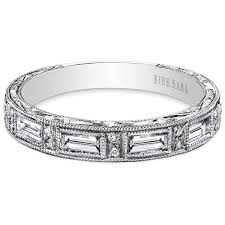 kirk kara wedding band kirk kara diamond baguette and cut wedding ring