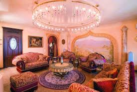 Home Interior Bedroom Lavish And Luxury Living Room Images And Decoration Style