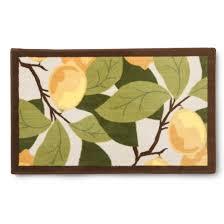lemon tree floor mat rug maples target