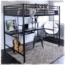 metal loft beds with desks study metal loft beds for teens