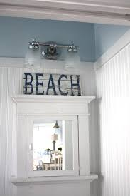 Powder Room Sign Sea Glass Cottage Signs You Love Beach Style