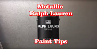 silver metallic ralph lauren paint tips tricks youtube