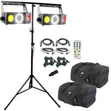 chauvet dj swarm 4 fx duo u0026 lighting stand package idjnow