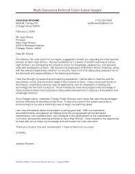 Sample Recommendation Letter Teacher Sample Referral Cover Letter
