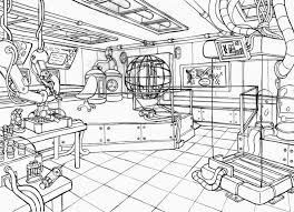 science lab coloring pages kids coloring