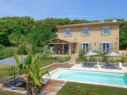 holiday house modern cottage with pool by lorgues provence var