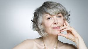 hairstyle to hide grey roots going grey or color away how hair color shades our thinking