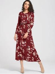 maxi dress with sleeves sleeve buttons tiny floral maxi dress wine maxi dresses
